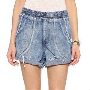 One Teaspoon Cobain Hunter Shorts Size Small